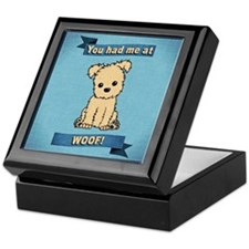 You had me at WOOF! Keepsake Box