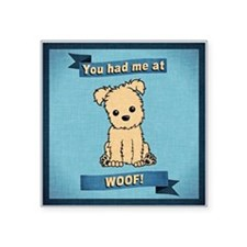 You had me at WOOF! Sticker