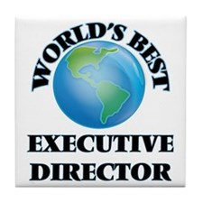 World's Best Executive Director Tile Coaster