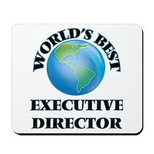 World's Best Executive Director Mousepad