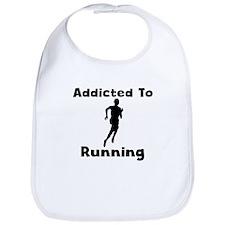 Addicted To Running Bib