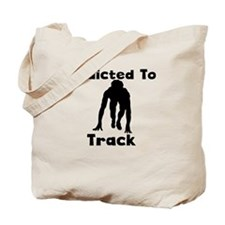 Addicted To Track Tote Bag
