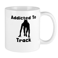 Addicted To Track Mugs
