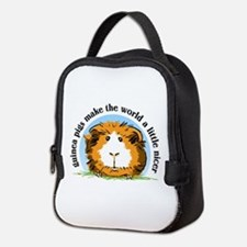 Guineas Make The World Neoprene Lunch Bag