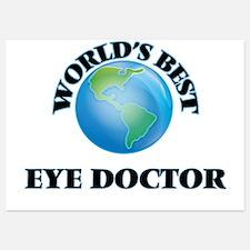 World's Best Eye Doctor Invitations