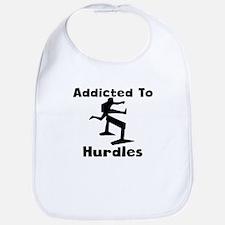 Addicted To Hurdles Bib