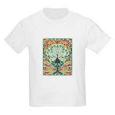 Art Nouveau Peacock T-Shirt