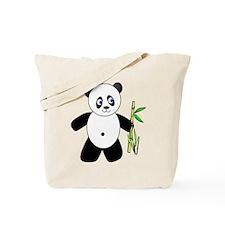 Lucky Panda Tote Bag