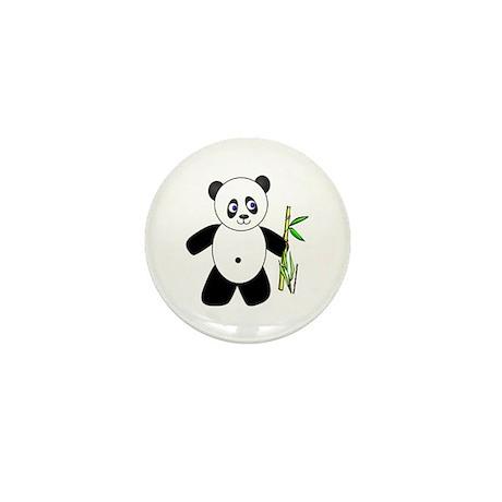 Lucky Panda Mini Button