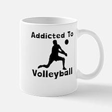 Addicted To Volleyball Mugs