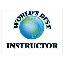 World's Best Instructor Invitations