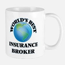 World's Best Insurance Broker Mugs