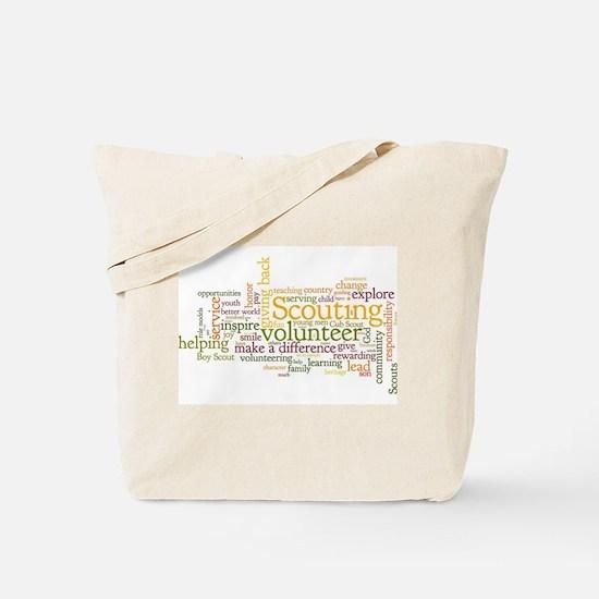 Scouting Volunteer Tote Bag