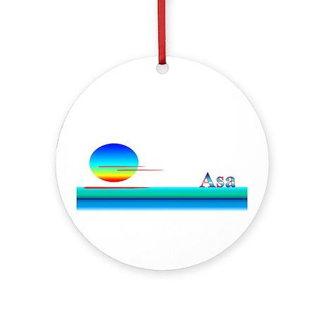 Asa Ornament (Round)
