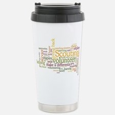 Scouting Volunteer Stainless Steel Travel Mug