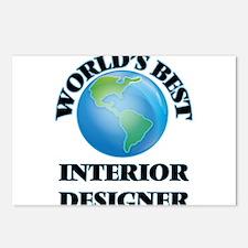 World's Best Interior Des Postcards (Package of 8)