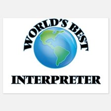World's Best Interpreter Invitations