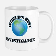 World's Best Investigator Mugs