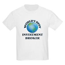 World's Best Investment Broker T-Shirt