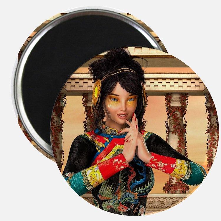 Princess of China Magnets