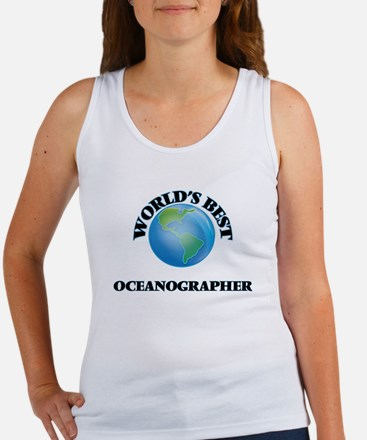 World's Best Oceanographer Tank Top