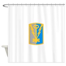 501st Military Intelligence Brigade Shower Curtain