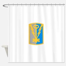 501st Military Intelligence Brigade Shower Curtain