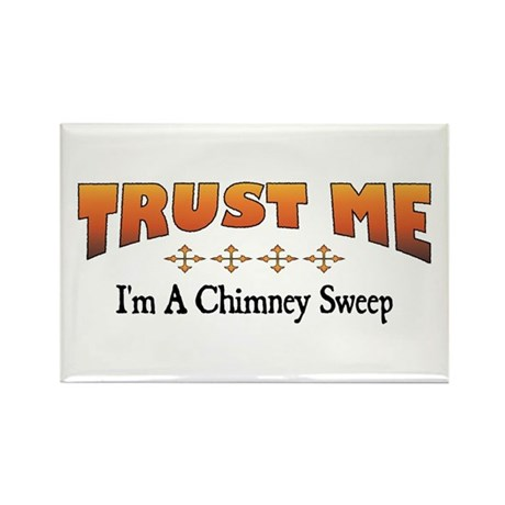 Trust Chimney Sweep Rectangle Magnet (10 pack)