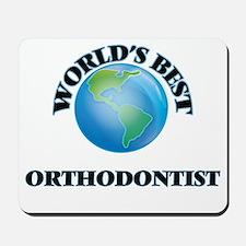 World's Best Orthodontist Mousepad