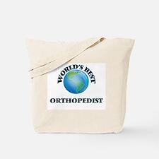 World's Best Orthopedist Tote Bag