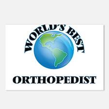 World's Best Orthopedist Postcards (Package of 8)