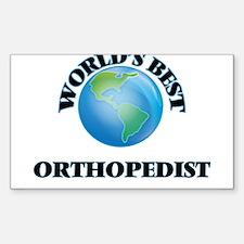 World's Best Orthopedist Decal