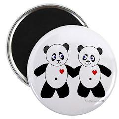 Panda Couple 2.25