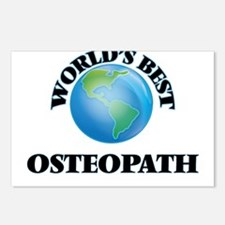 World's Best Osteopath Postcards (Package of 8)