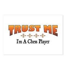 Trust Chess Player Postcards (Package of 8)