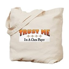Trust Chess Player Tote Bag