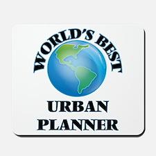 World's Best Urban Planner Mousepad