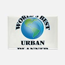 World's Best Urban Planner Magnets