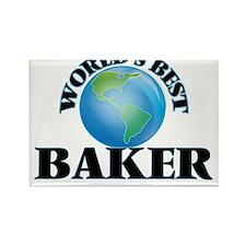 World's Best Baker Magnets