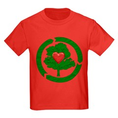 Recycle Tree With Heart T