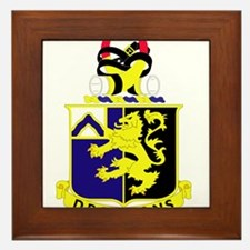 1st Battalion 48th Infantry Regiment.p Framed Tile