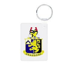 1st Battalion 48th Infantry Regiment Keychains