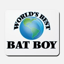 World's Best Bat Boy Mousepad