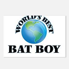World's Best Bat Boy Postcards (Package of 8)