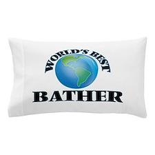 World's Best Bather Pillow Case