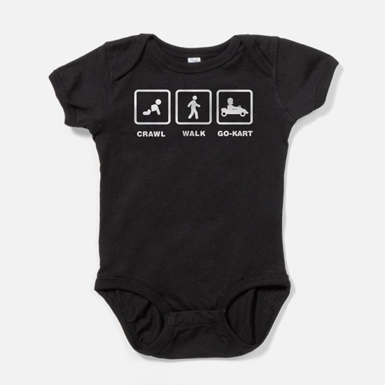 Cute Car racing Baby Bodysuit