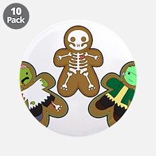 """Unique Skeleton 3.5"""" Button (10 pack)"""
