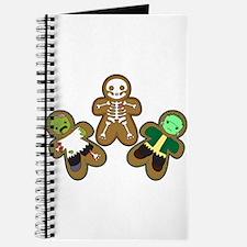 Cute Cookie gingerbread man funny Journal