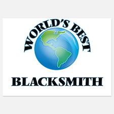 World's Best Blacksmith Invitations