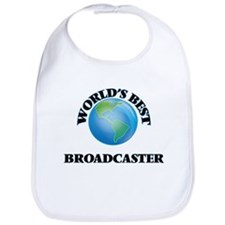 World's Best Broadcaster Bib